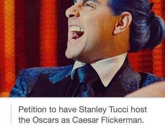 funny-petition-Stanley-Tucci-Oscars-Hunger-Games
