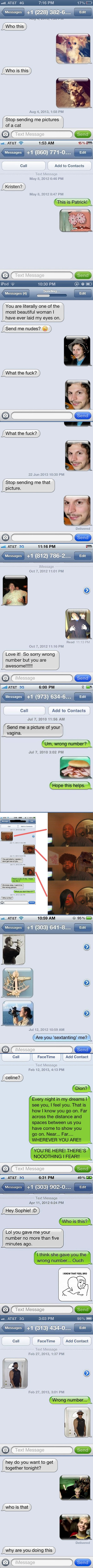 Perfect ways to respond to a wrong number text…