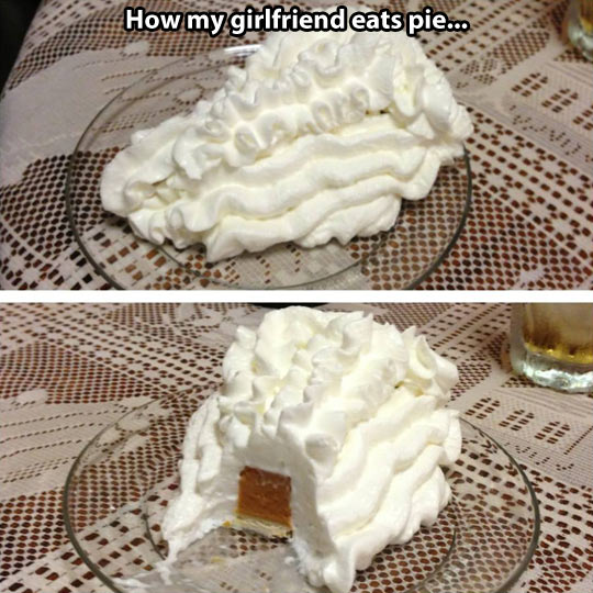 How to eat pie correctly…