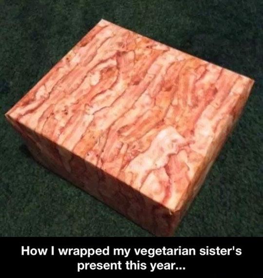 Bacon wrap…