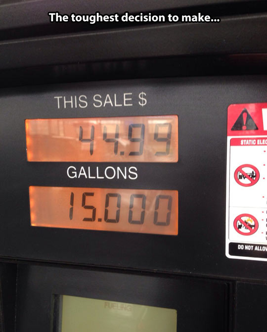 One of the toughest OCD decisions to make…