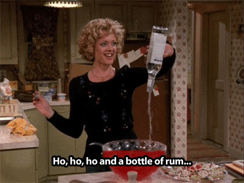 How I got through Christmas this year…