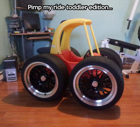 Toddler ride…