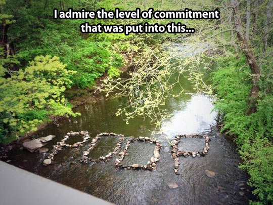Level of commitment…