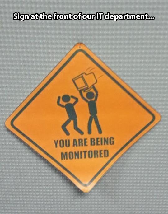 Monitoring ahead…