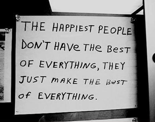The happiest people in the world…