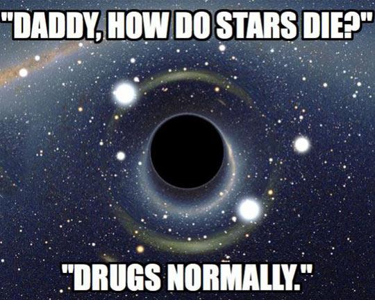 How stars die…