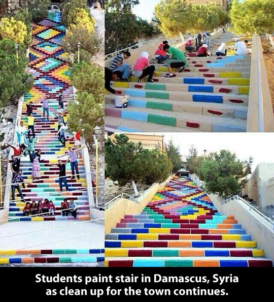 funny-stairs-painting-kids-park