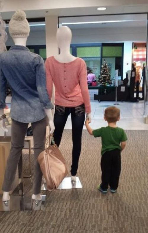 Model parents right there…