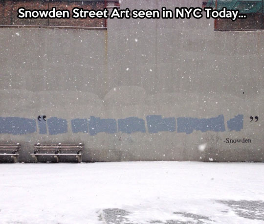 Snowden Street Art…