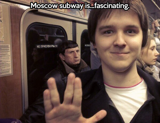 Things you only see in Russia…