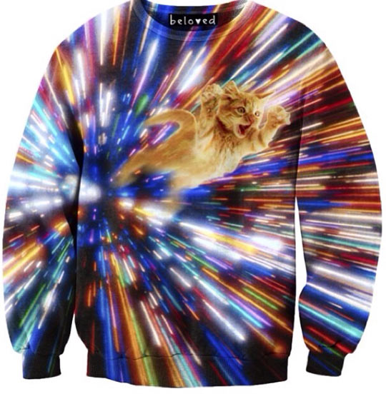 funny-sweater-Universe-cat-flying-colors