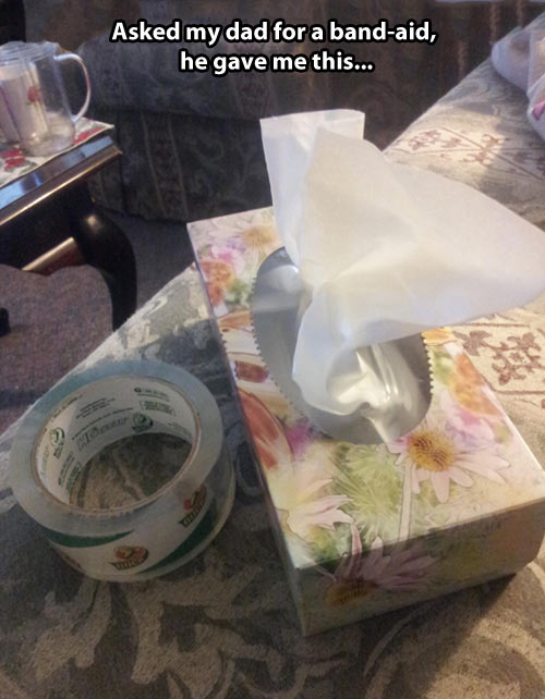 funny-tape-tissue-house-paper-table