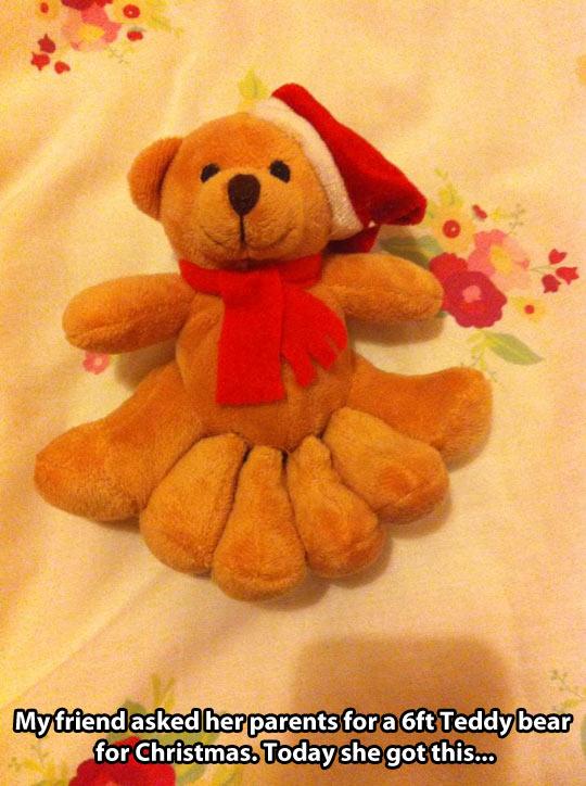 funny-teddy-bear-Christmas-gift-legs
