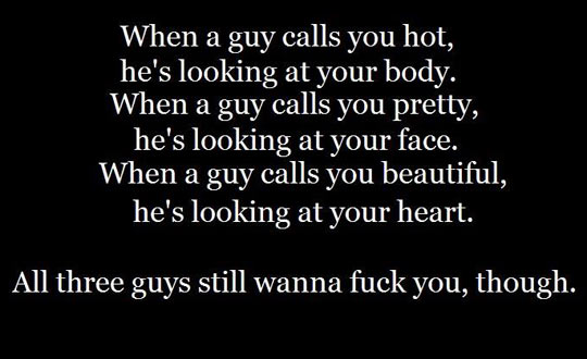 What guys really mean…