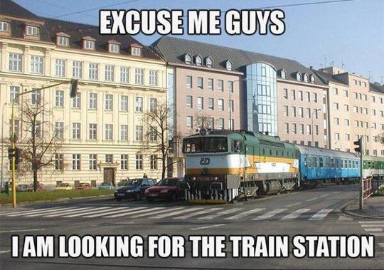 funny-train-England-car-street