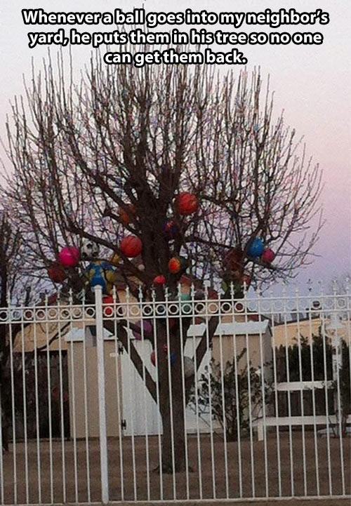 funny-tree-balls-neighbor-mean