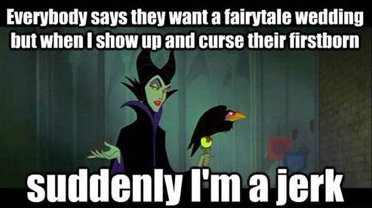 Misunderstood Disney villain…