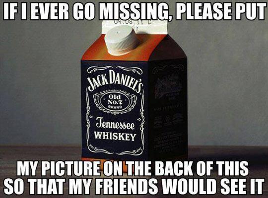 If I happen to go missing…
