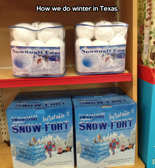 Winter in Texas…