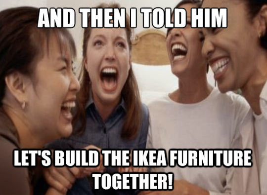IKEA furniture…