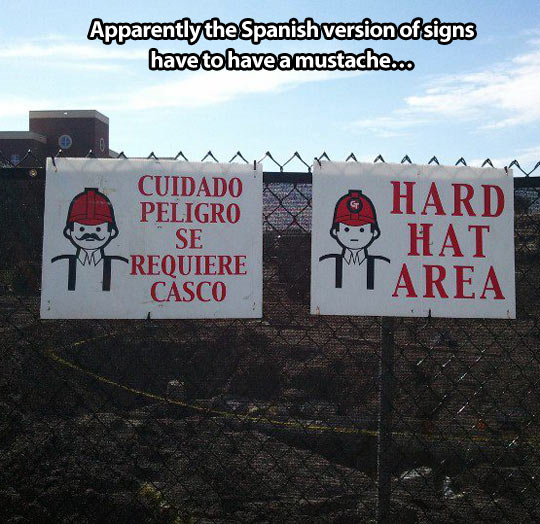 funny-work-sign-hat-mustache