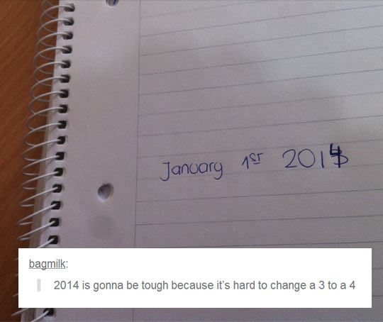 2014 is going to be tough…