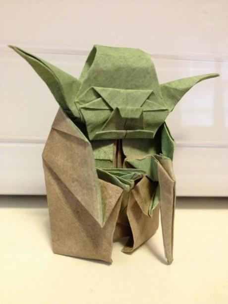 Black belt in origami
