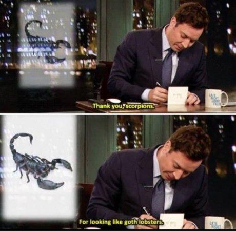 Goth Lobster