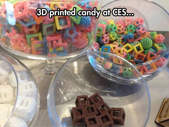 Now I can print my candies