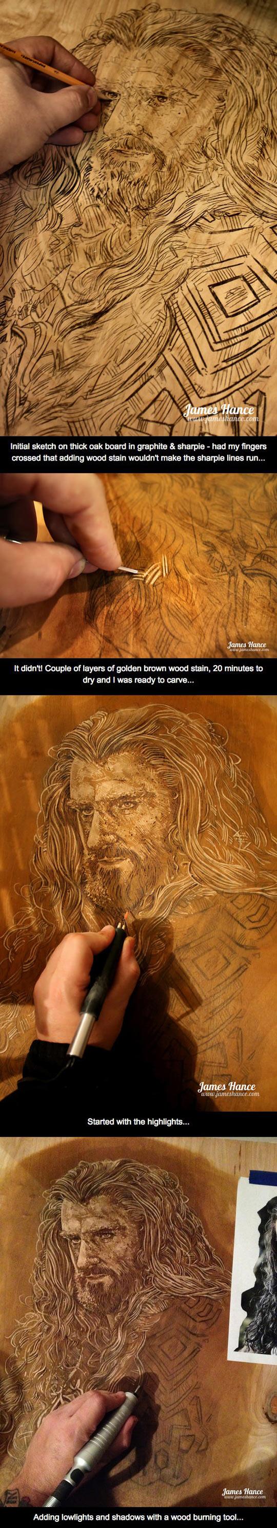 Thorin-Oakenshield-wood-carving-Oak