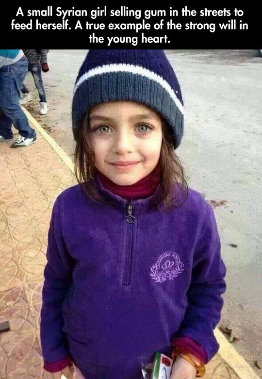 Those Syrian eyes