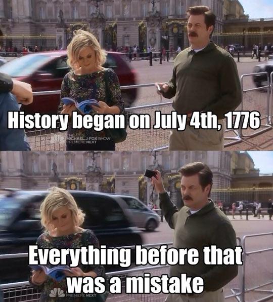 When history began