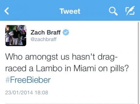 Zach Braff, the ultimate troll