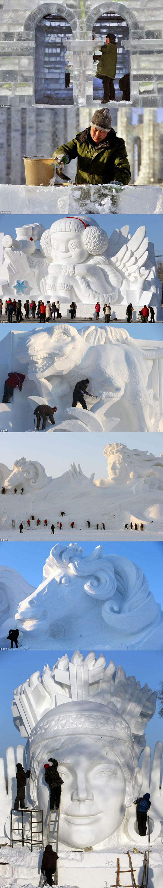 cool-China-Ice-Snow-Festival-statue