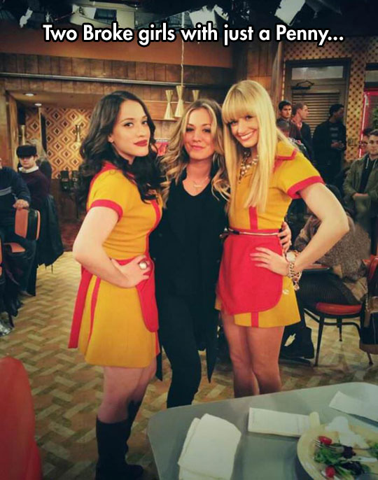 Broke girls and a Penny…