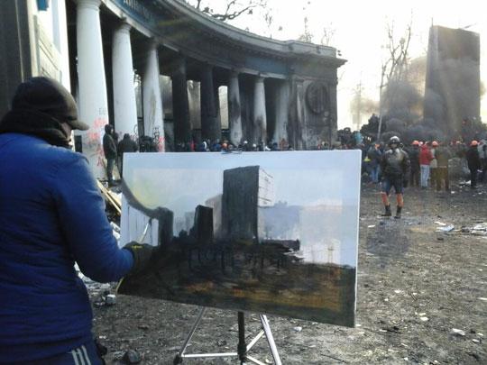 The painter of battles, Kiev…
