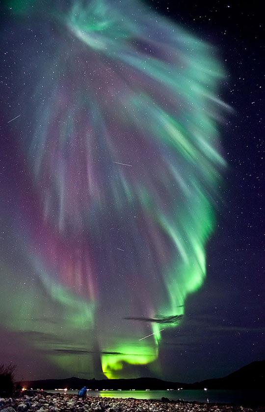 Aurora over Norway…