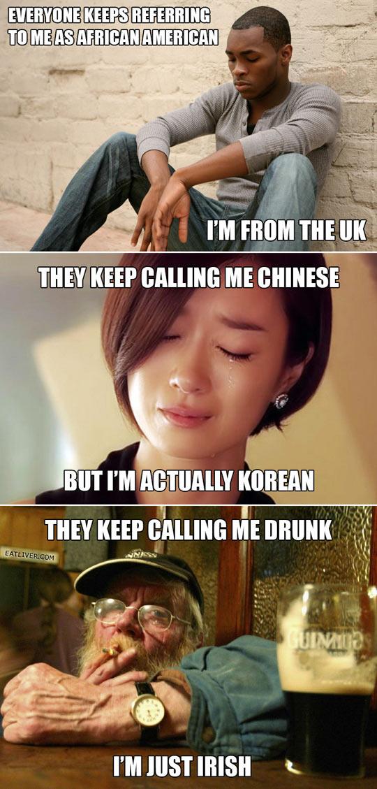 Overused stereotypes…