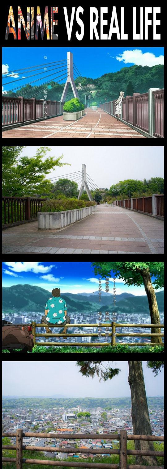 Anime vs. Real Life...