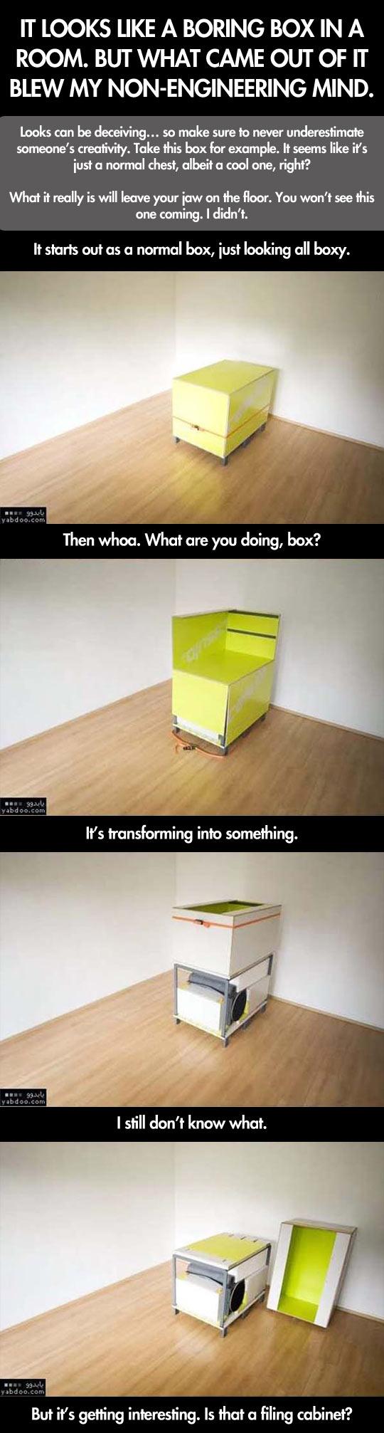 Cool room inside a box
