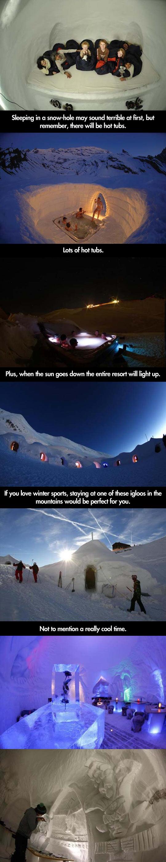 cool-igloo-village-mountains-Europe-sleeping