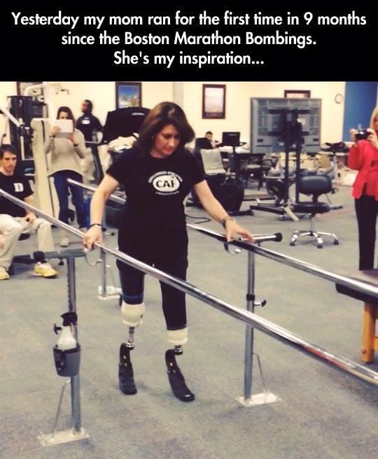 She's my inspiration…