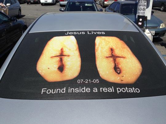 cool-potato-Jesus-car-window
