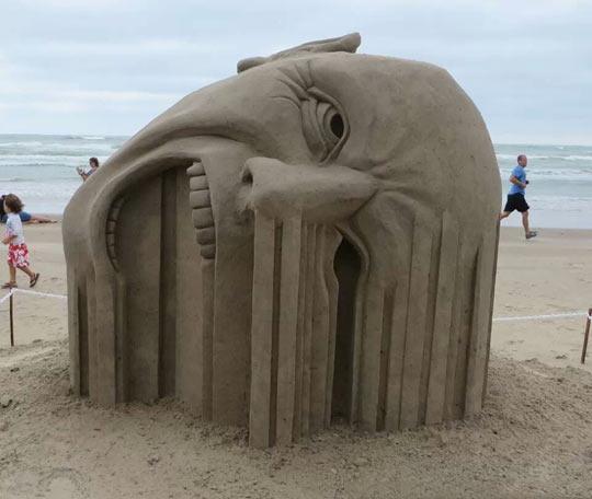 cool-sand-face-beach-cloudy