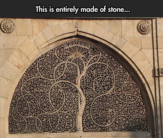 cool-stone-art-tree-architecture
