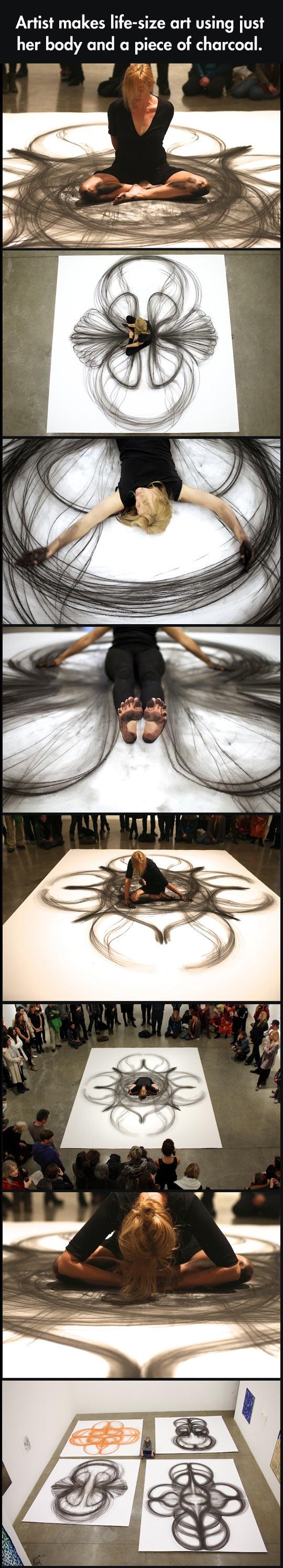 Life-sized art…