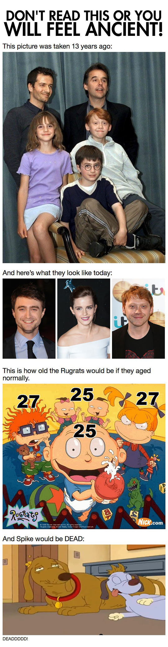 I already feel old...