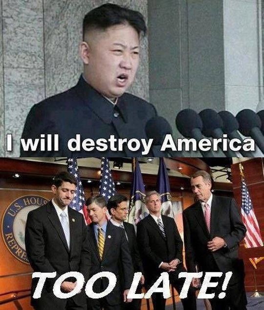 funny-America-destroy-announce-government-Kim