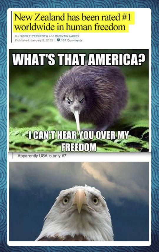 I can't hear you, America…